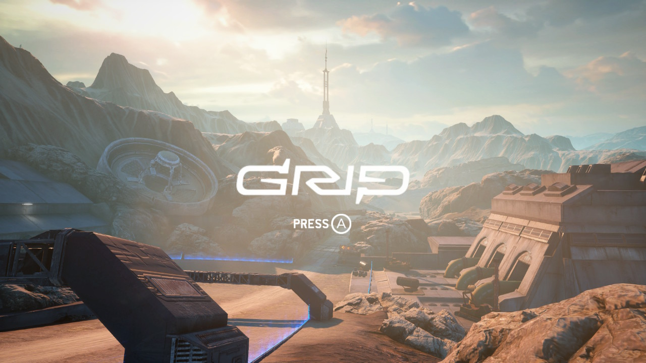 Grip Main Start Screen