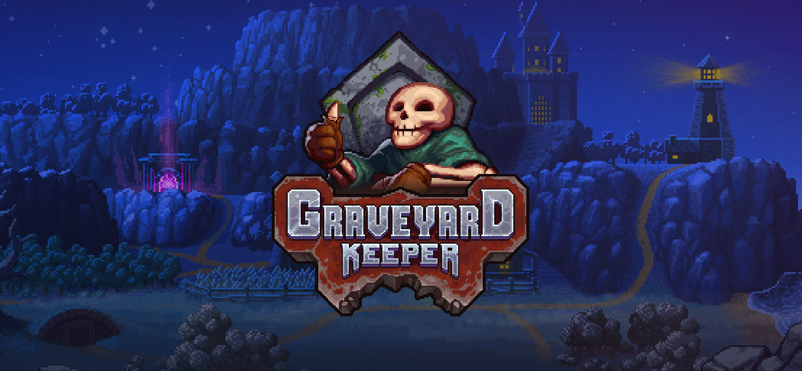 Graveyard Keeper Main Logo
