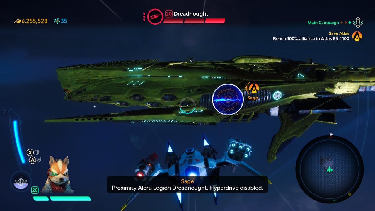 Starlink Dreadnought Battle