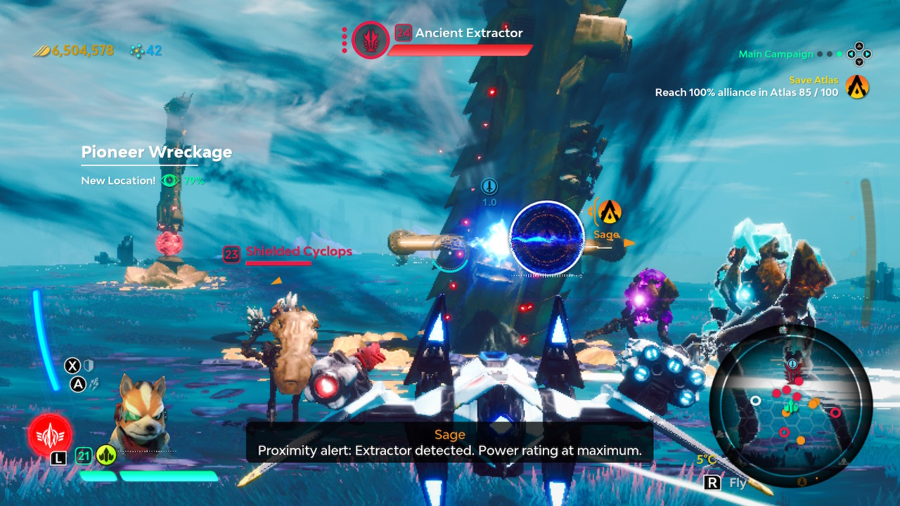 Starlink Extractor Fight