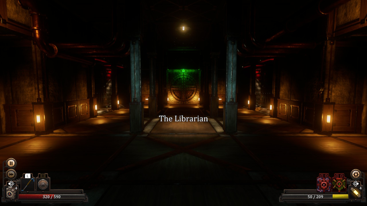 Librarian Level Start Vaporum