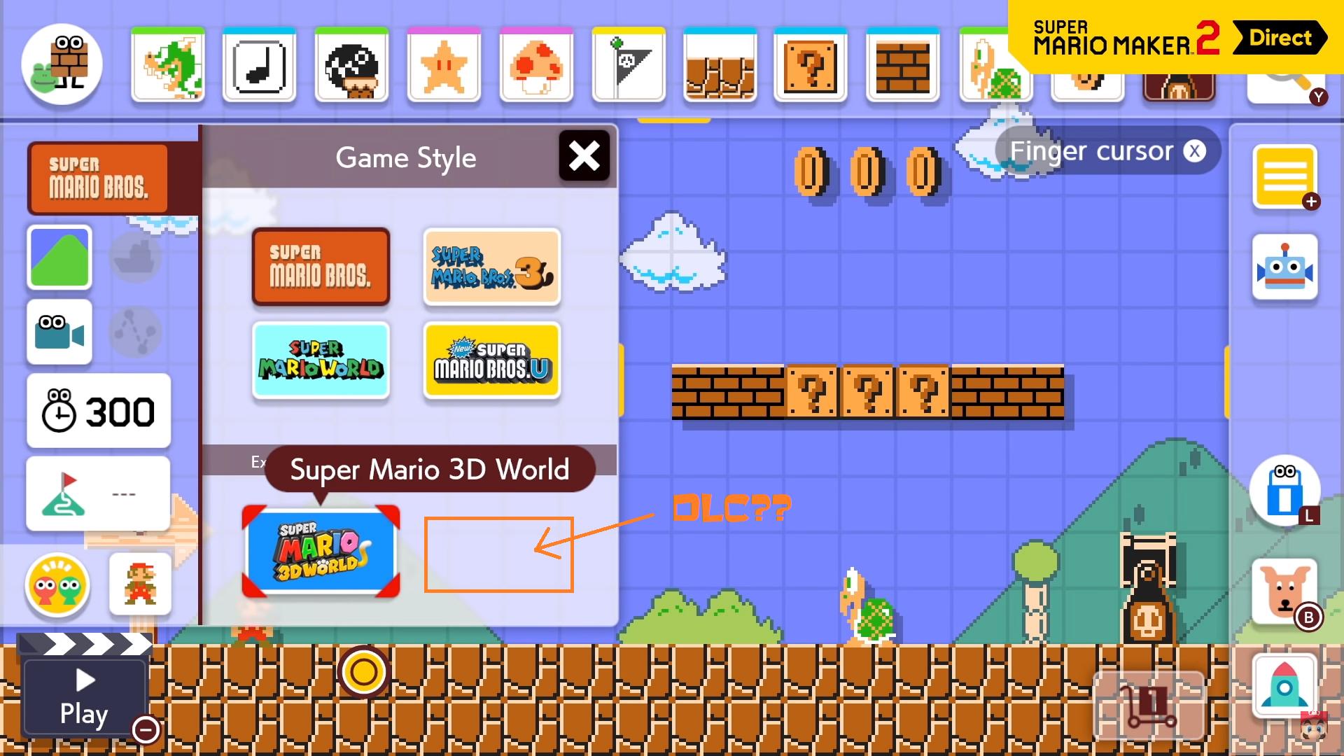 Super Mario Maker 2 3D World Game Style