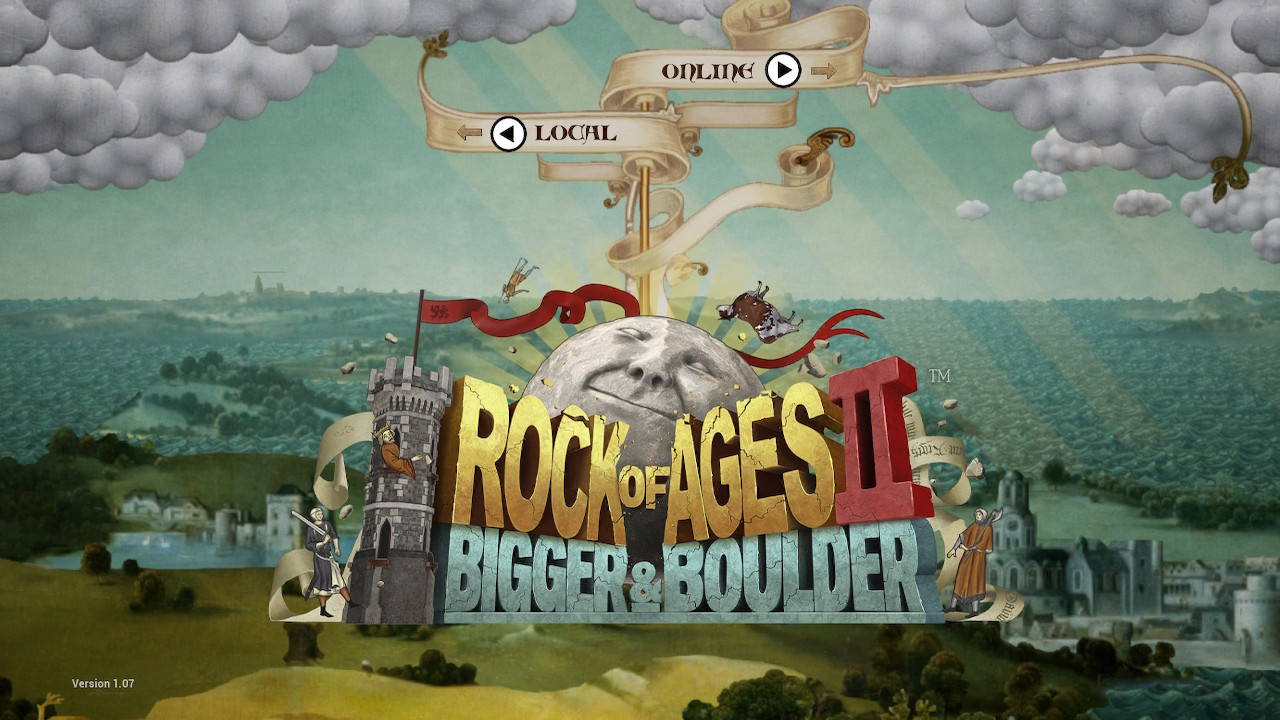 Rock of Ages 2 Main Logo