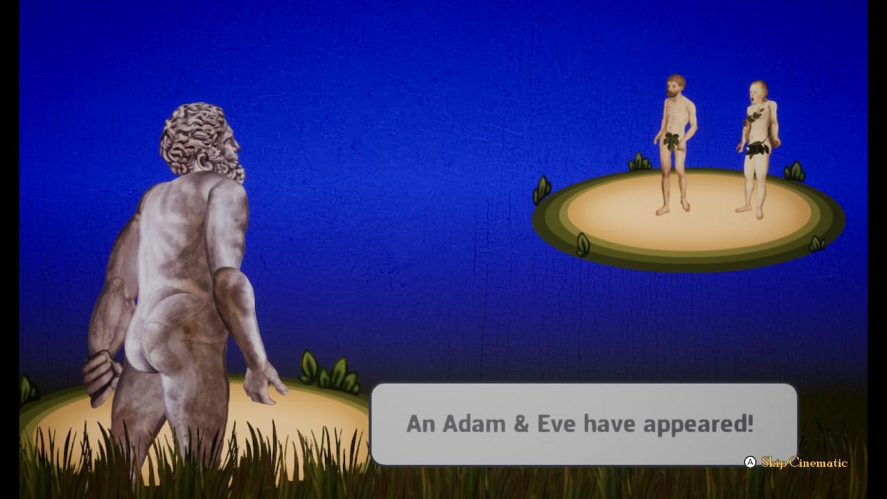 Adam & Eve cutscene