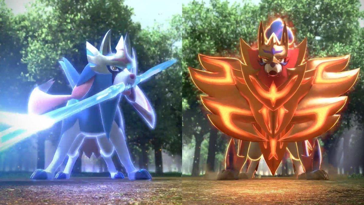 Legendaries Sword and Shield
