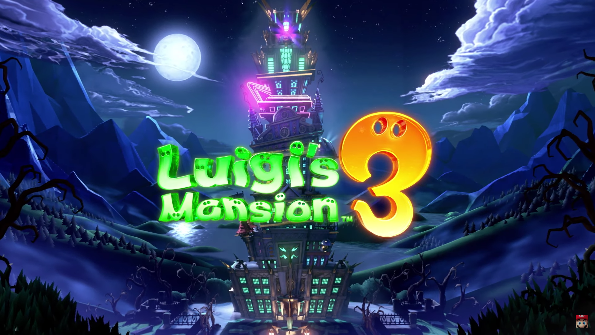 Luigi's Mansion Three