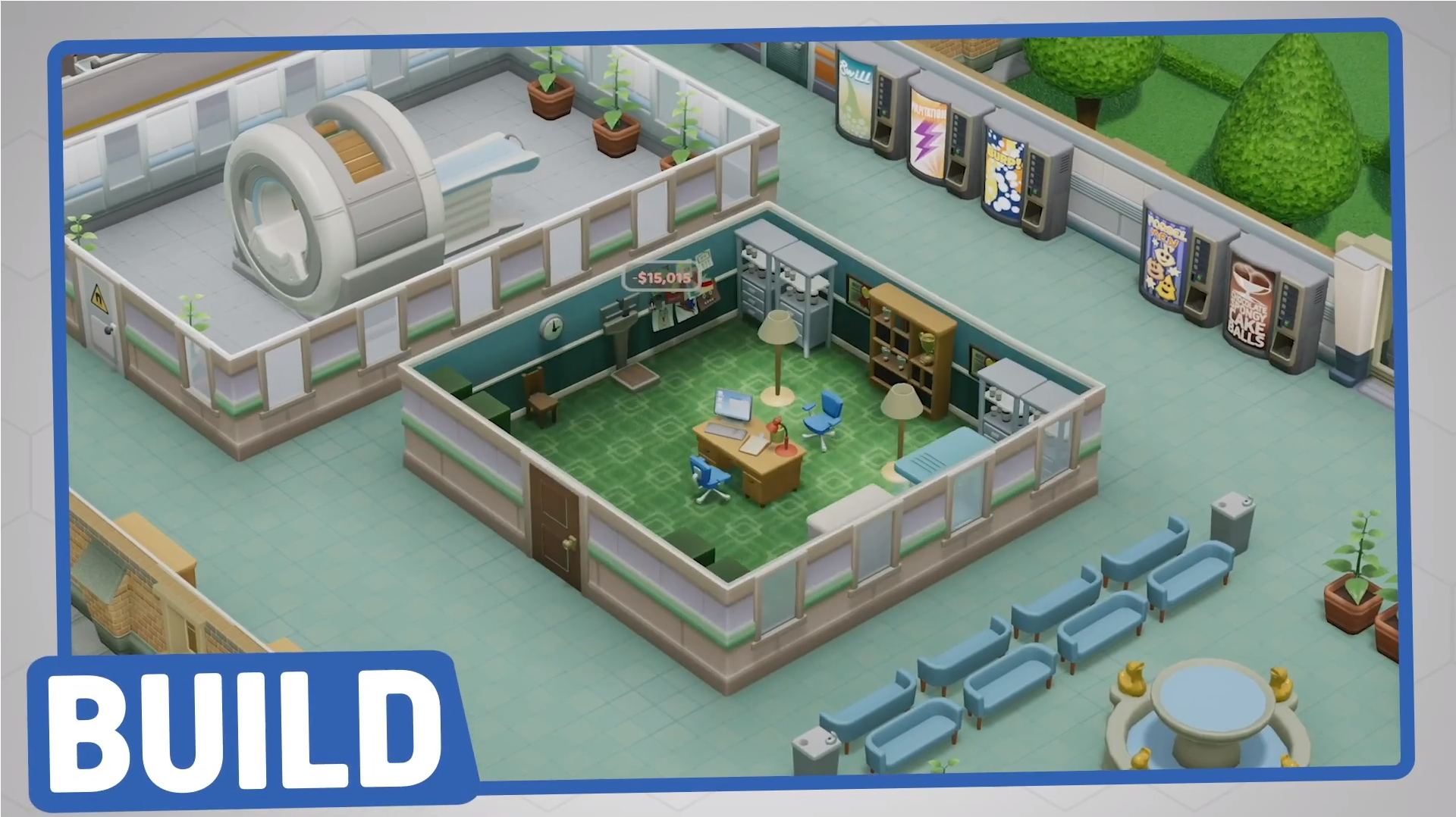 Two Point Hospital Build