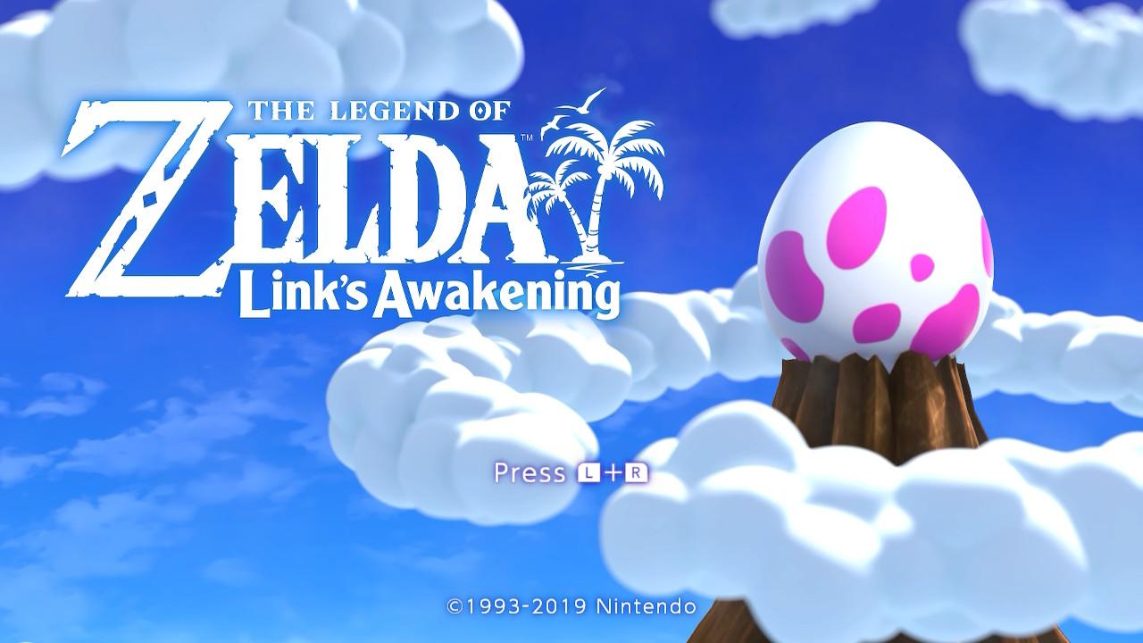 Link's Awakening Main Logo