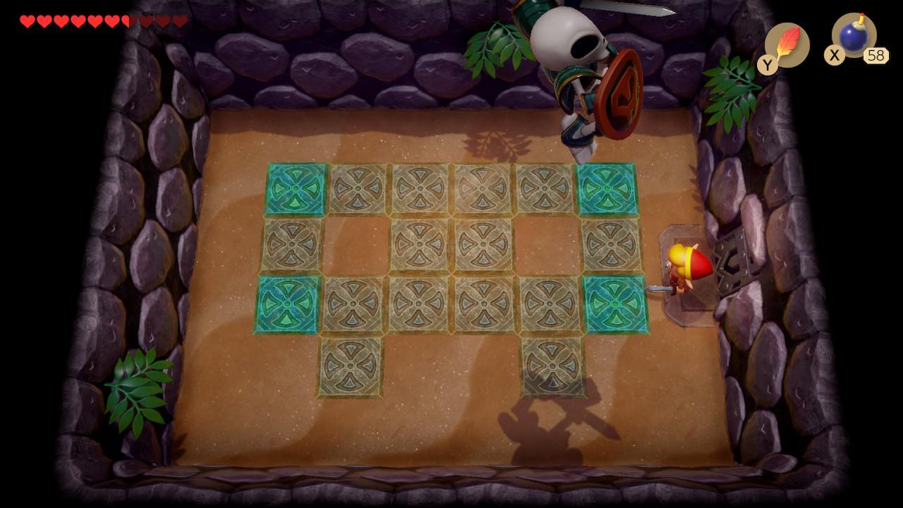 Link's Awakening Stalfos Fight