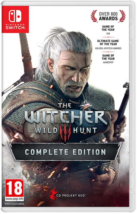 Witcher 3 Game Case