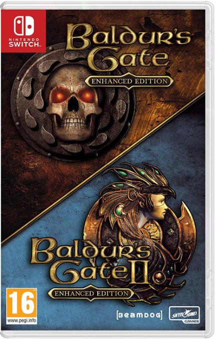 Balders Gate Game Case