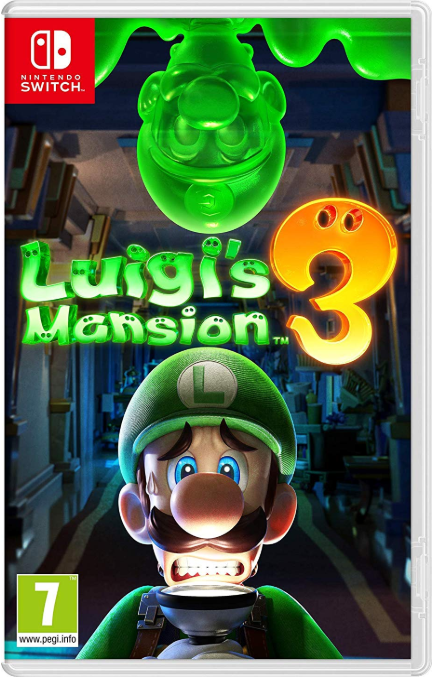 Switch in October - Luigi's Mansion