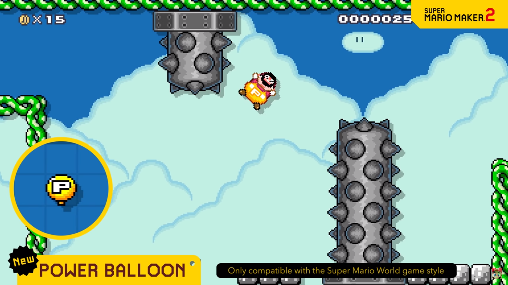Power Balloon Super Mario Maker 2