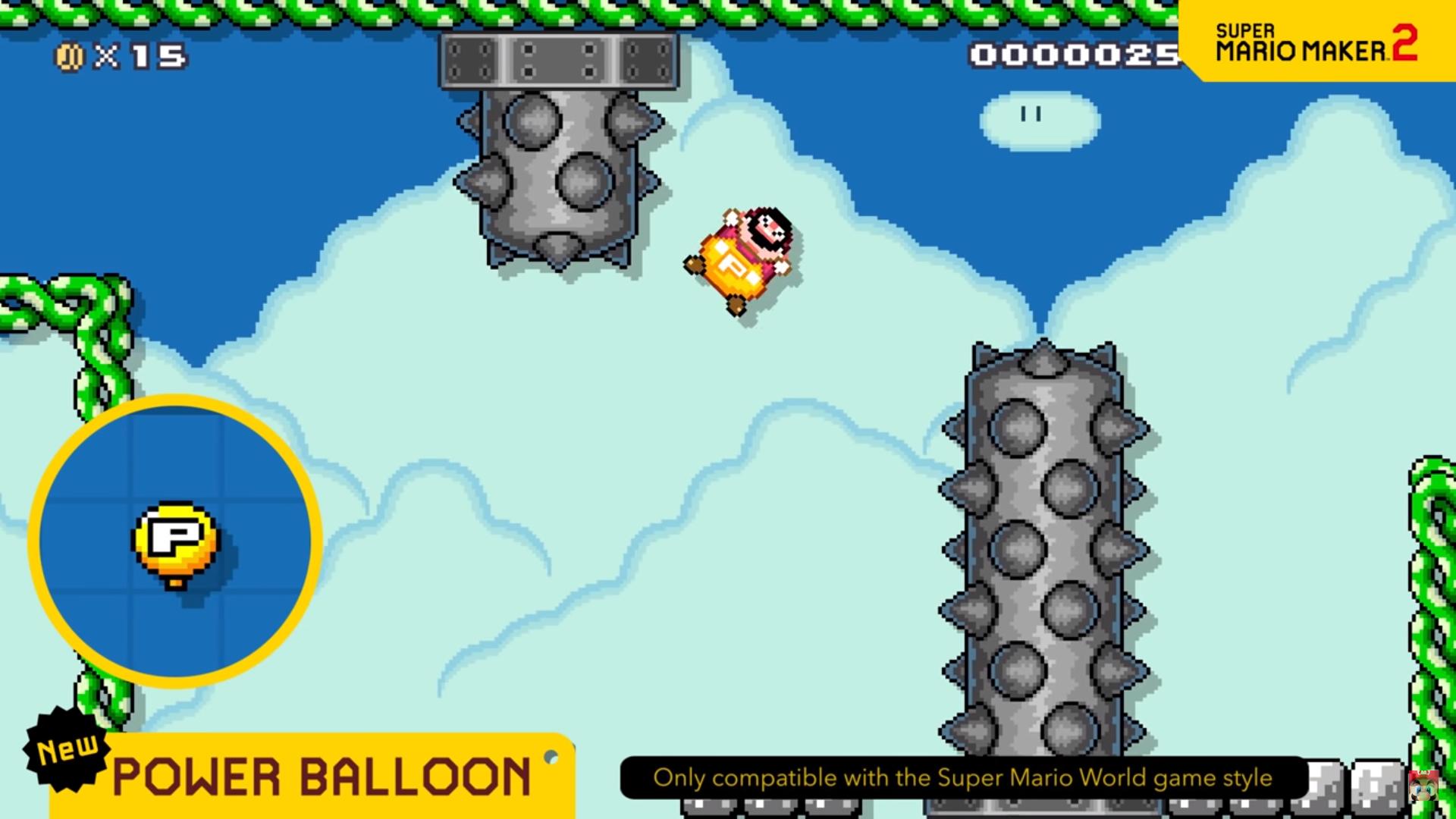 Power Balloon Super Mario Maker 2