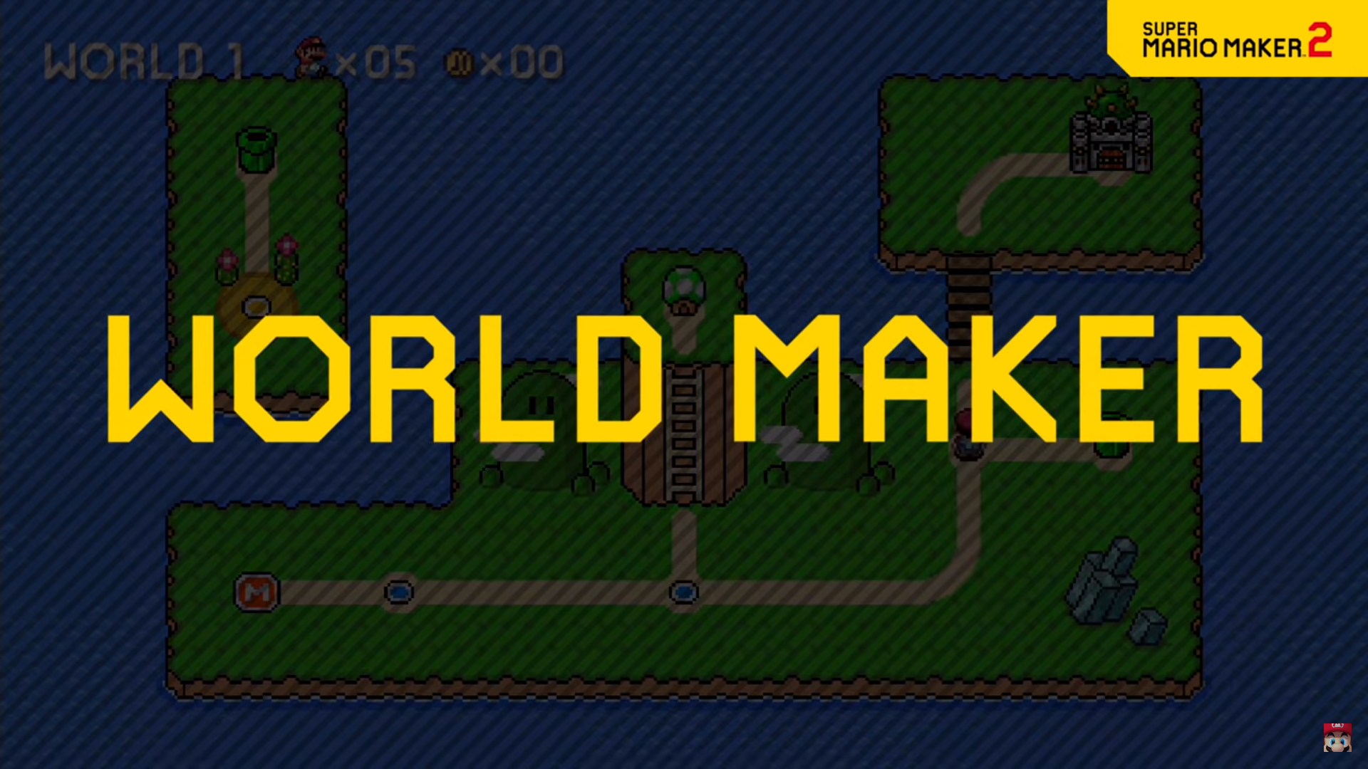 World Maker Super Mario Maker 2