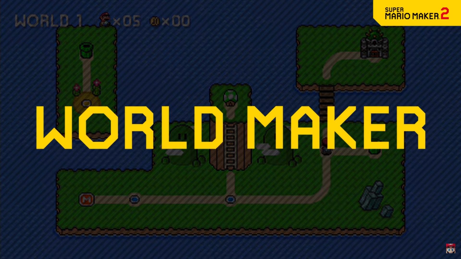 World Maker Super Mario Maker 2