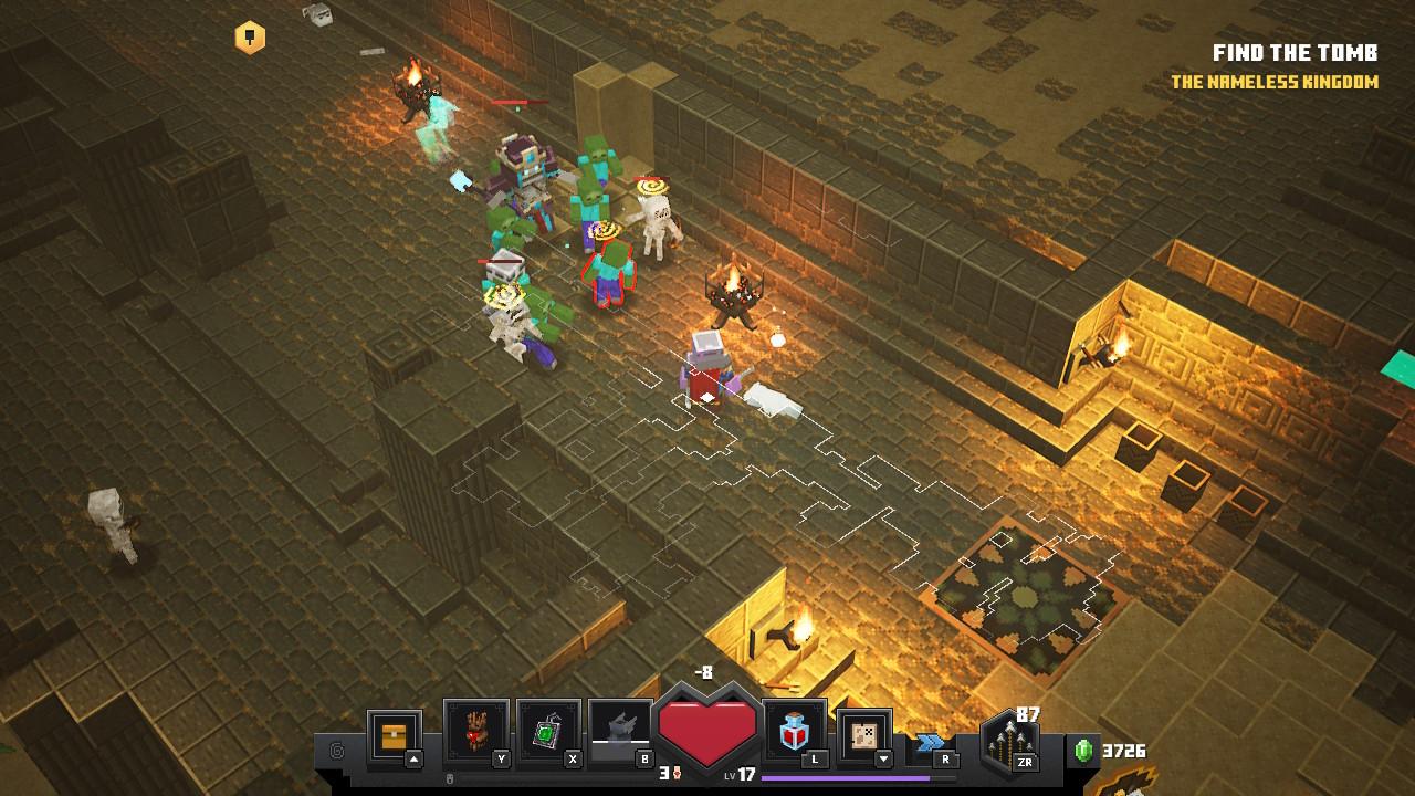 Mobs Minecraft Dungeons