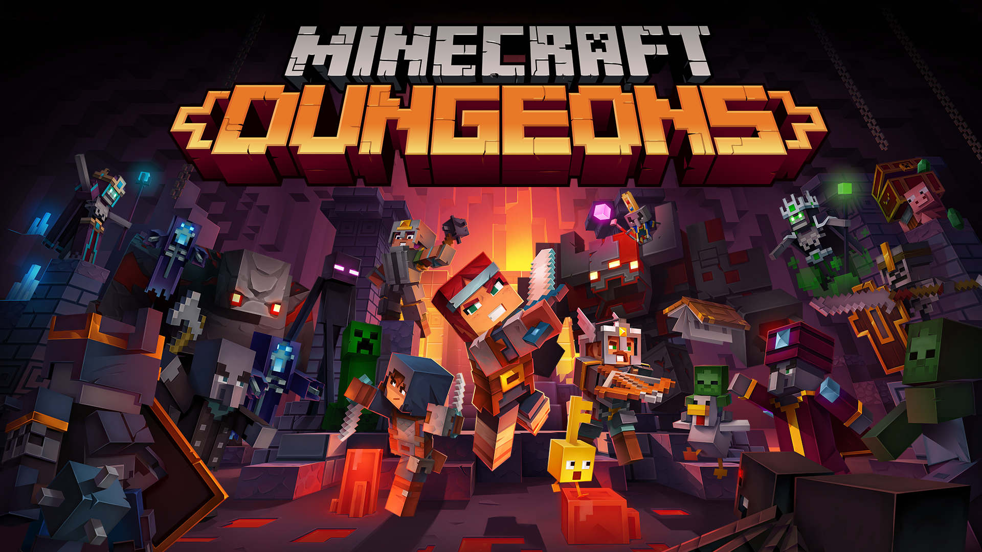 Minecraft Dungeons Main Picture
